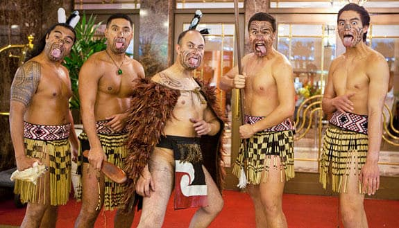 Photo of a Haka team building event