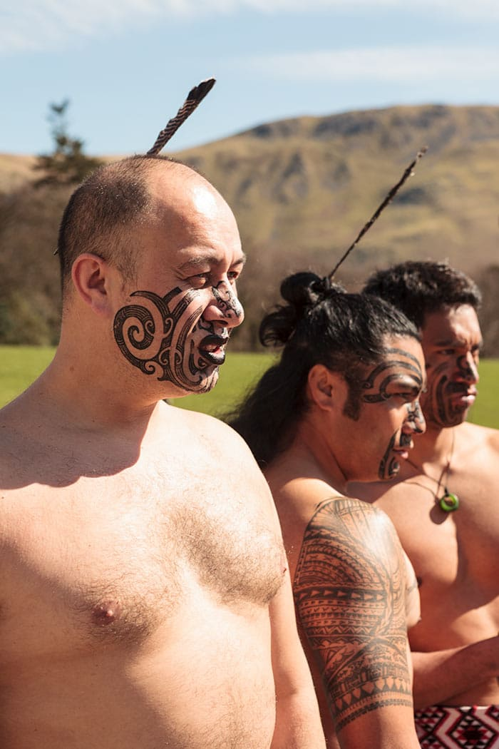 Haka warriors