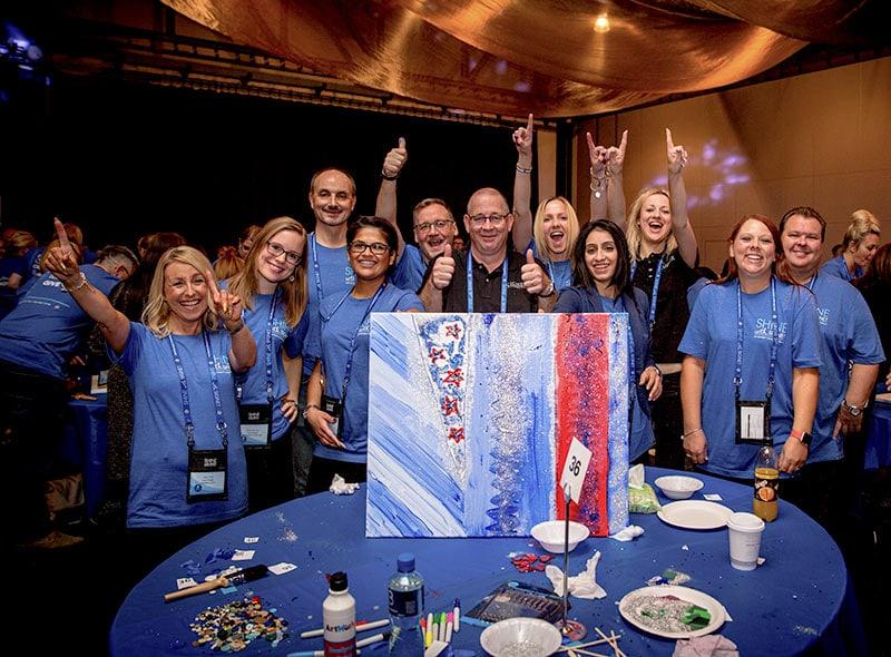Indoor Team Building Activities Creative Team Events