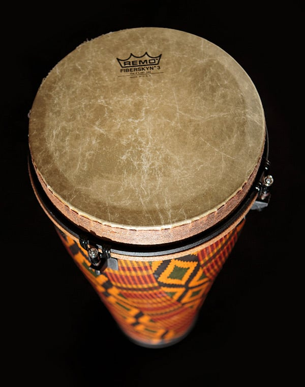Close up of Remo drum