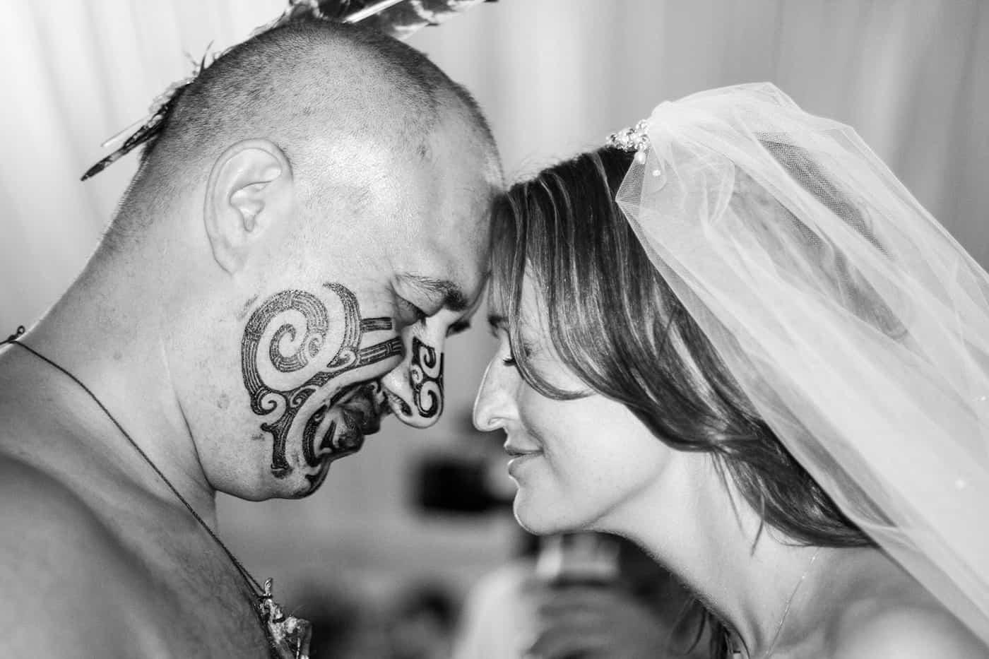 Haka in a wedding