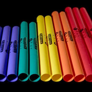 Boomwhackers used as a conference ice breaker