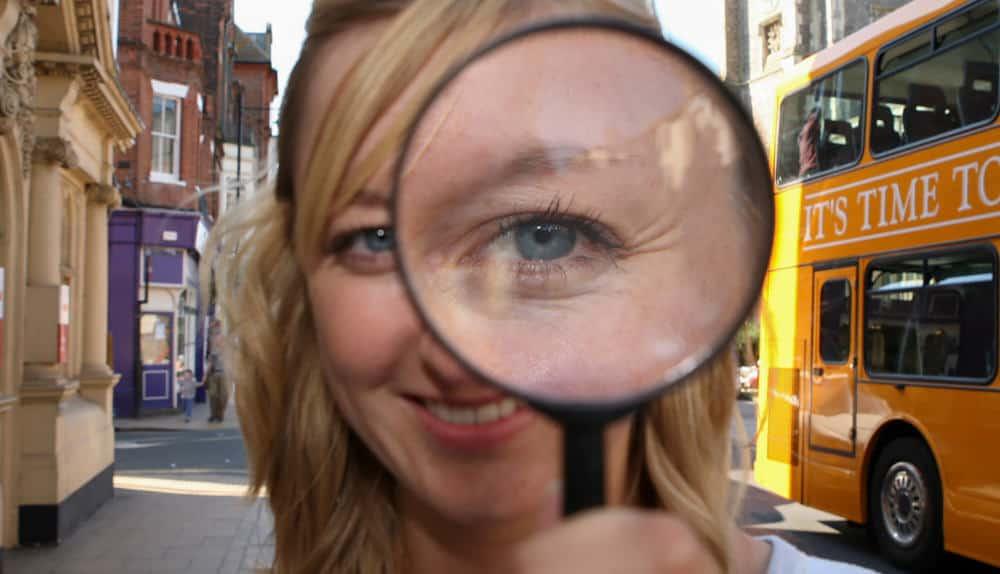 Secret agent corporate treasure hunt
