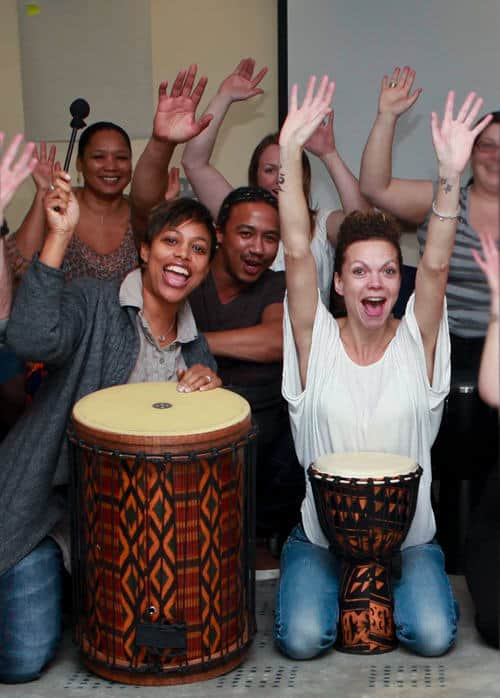 Photo of creative team training
