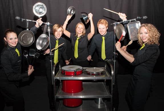Crashing Waiters trolly