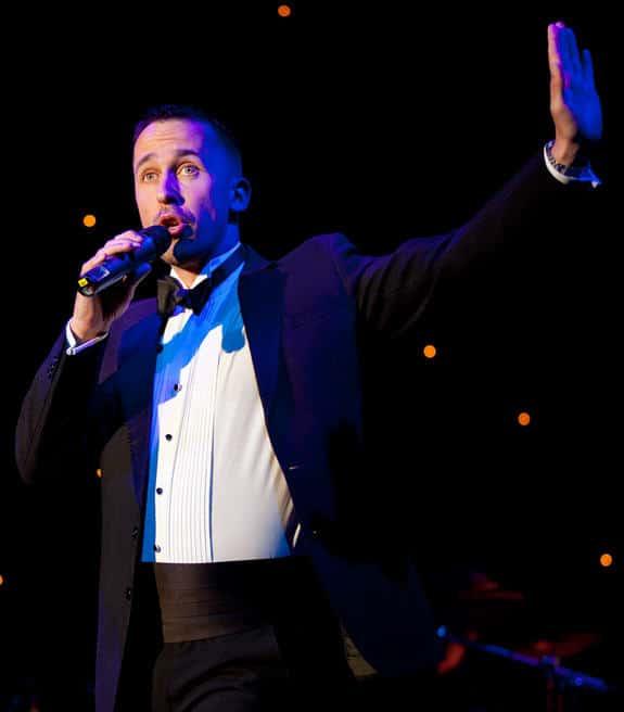 Singing Waiters example