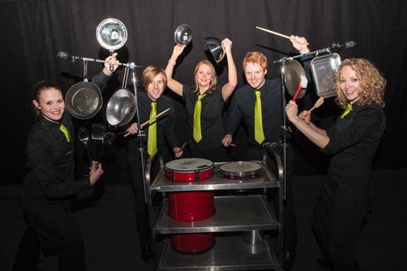 Crashing Waiters evening entertainment