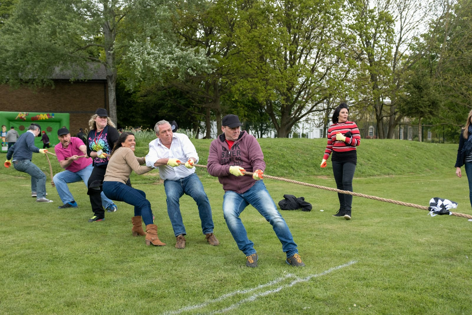Sports Day team building