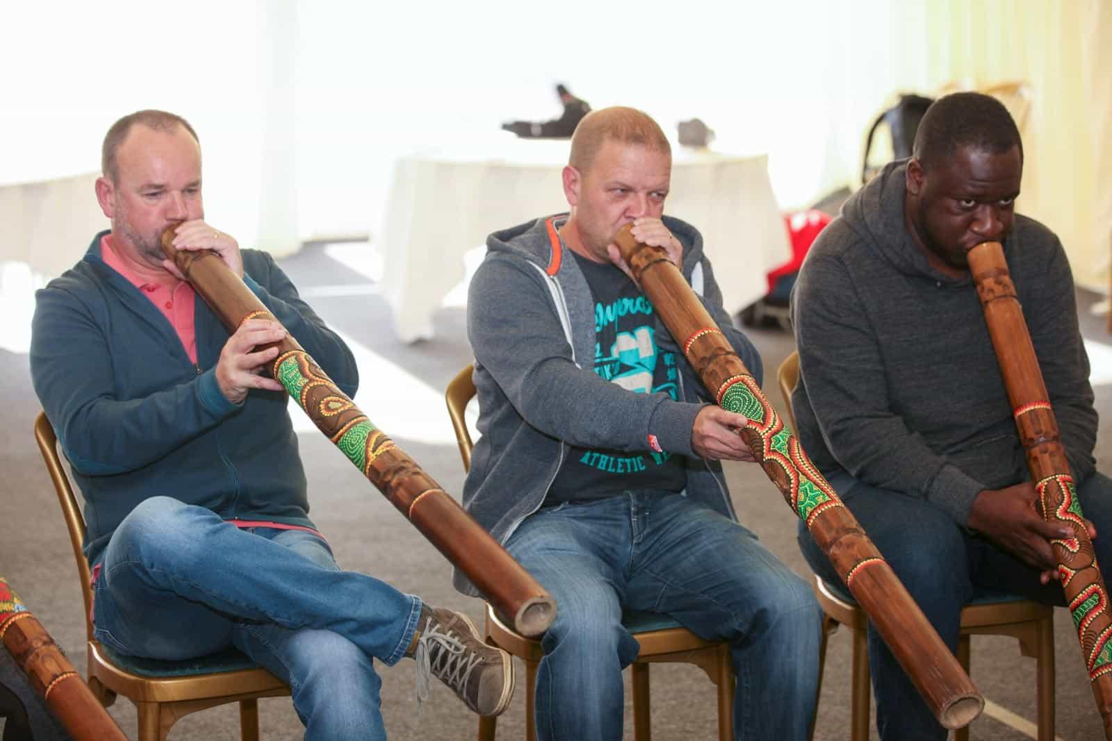 Didgeridoo team building